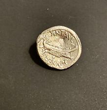 Cleopatra And Marc Antony Denarius Solid Silver