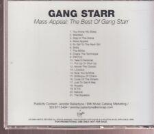 gang starr mass appeal: the best of gang starr cd promo