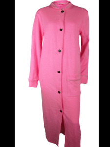 Pink ankle length housecoat SIZE 16/18 bnip