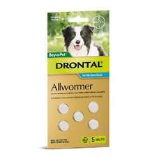Drontal Worming Treatments for Dogs Dog 10kg 2-chews
