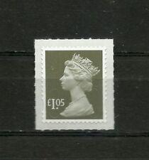 Great Britain Machin  £1.05 OFNP PSA 2B  De La Rue Code M16L Cat SG 2932a  MNH