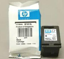 HP 901XL Black Ink Cartridge CC654AN Genuine New Lot Of 2