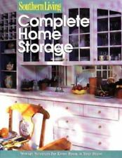 Complete Home Storage (Southern Living (Paperback) Very Good Free Shipping
