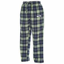 "NFL Men's Seattle Seahawks ""Huddle"" Flannel Pajama Pants - XLG"