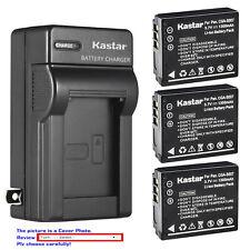 Kastar Battery Wall Charger for Panasonic CGA-S007 & Panasonic LUMIX DMC-TZ3A