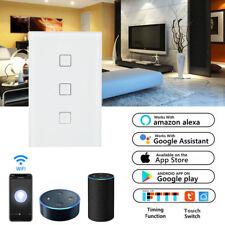 Smart LED Light Dimmer 220V 110V WiFi Wall Touch Dimming Panel Switch 1Gang-
