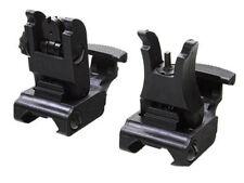 71L-F/R Tactical Folding Front & Rear Flip-up Set Front & Rear Sight Set