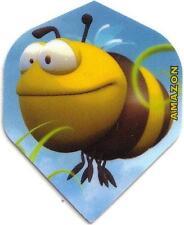 "Amazon Extra Strong Cartoon Dart Flights ""Bee"""