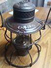 Handlan I.C. Railroad Clear Glass Globe Lantern