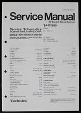 TECHNICS SA-DX850 Original AV-Receiver Service-Manual/Service Schematics o186