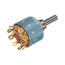 ELMA 01-1104 Interruptor Rotatorio Tipo 01 1 POLO 6 Posiciones 60deg non-shortin