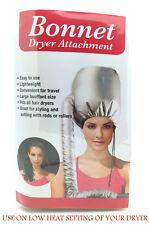 Portable Soft Hair Drying Salon Cap Bonnet Hood Hat Blow Dryer Attachment uk