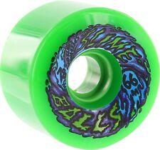 SANTA CRUZ SLIMEBALLS 66mm 78a NEON GREEN Skateboard Wheels
