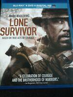 Lone Survivor (Blu-ray/DVD, 2014, 2-Disc Set, Includes Digital Copy UltraViolet)