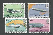 BERMUDA 1975 AIR MAIL SERVICE SG,330-333 U/M NH LOT 666A