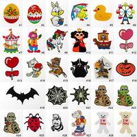 #1827R Animal Cartoon Craft Children Kids Embroidered Sew Iron On Motif Patch
