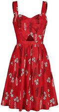 Her Universe Disney Lilo & Stitch Retro Style Cut Out Cosplay Dress - Size XL
