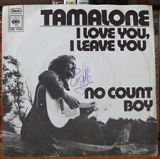 TAMALONE I LOVE YOU, I LEAVE YOU FRENCH SP CBS 1971
