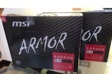 NEW! SEALED! MSI AMD Radeon RX 580 8GB GDDR5 PCI Express Graphic Card