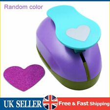 """3"""" Scrapbooking Handheld Paper Card Shape Cutter Palm Punch - Traditional Heart"""