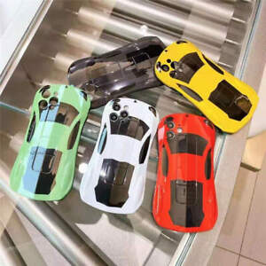 4Colors For i Phone 7 8 Plus MAX 11 12 Pro Car Shape Heavy Duty Armor Cover Case