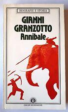 ANNIBALE Gianni Granzotto MONDADORI Oscar 1989