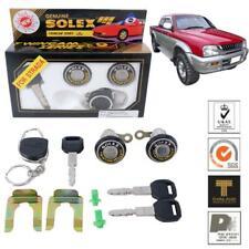 For 96-05 Mitsubishi L200 Triton Colt Solex 2 Door Lock Security Safety Key Set