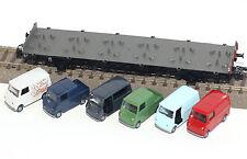 Märklin H0 45099-02 Autotransportwagen mit Goggomobil-Transportern Neu