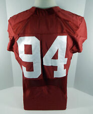 2016-18 Alabama Crimson Tide #94 Game Used Red Jersey BAMA00117