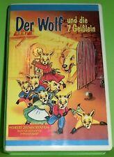 Der Wolf und die 7 Geißlein (VHS Kassette)