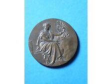 Médaille bronze Union Philatélique Marchiennoise 1942-1957 Belgique