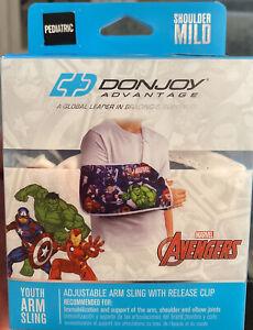 DonJoy Advantage Marvel Avengers Youth Adjustable Arm Sling.  D
