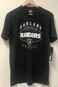 47 Oakland Raiders Football Men's Graphic Tee, Size: S