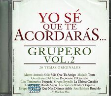 Marco Antonio Solis,Mojado,Los Temerarios,Grupo Bryndis,Ana Barbara CD Vol 2