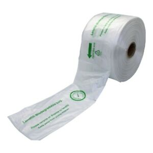 Produce Bags / Kitchen Liners 100% BIODEGRADABLE and RECYCLABLE | Roll of 500