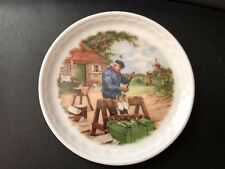 Vintage Ter Steege BV Holland Mini 3.5'' Plate Hand Decorated 1984