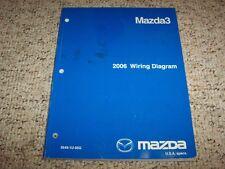 2006 Mazda3 Mazda 3 Electrical Wiring Diagram Manual i s Grand Touring 2.0L 2.3L