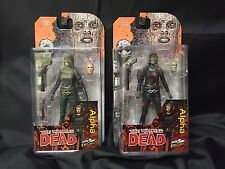 THE Walking Dead SKYBOUND esclusiva Alfa Colour/B&W Action Figure Set in magazzino