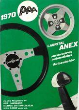 Documentation commerciale - LAURITAL ANEX - Accessoires automobile 1970