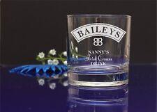Personalised engraved Baileys glass/mum's,nan's Christmas present, gift61