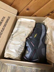 Keen Men's Detroit XT INT. MET 1021315EE Size 9.5 EE Wide Steel Grey New