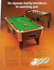 Brunswick Prestige Oak Pool Table 1978 Advertising Sales Flyer 021219AME
