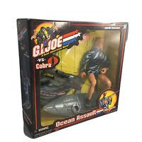 GI Joe vs Cobra Ocean Assault Wet Suit Missile Launcher 12 Figure Hasbro NIB