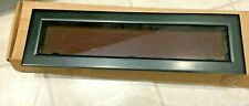 Lewmar Flush Mitre Portlight Size 4,Black Frame & trim,smoked Acrylic 393429800