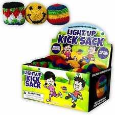 Light Up Woven Hacky Sack Kick Sack Guatemalan