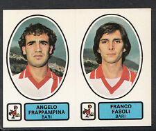 PANINI CALCIATORI FOOTBALL Adesivo 1977-78, N. 372-BARI-ANGELO FRAPPAMPINA