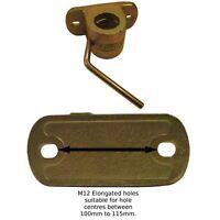 42mm Heavy Duty Jockey Wheel / Prop Stand Clamp CAST TR025