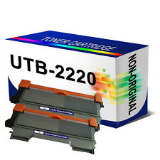 2BK Unink Brand Toner For Brother FAX-2840 2940 MFC-7360N 7460DN 7860DW TN2220