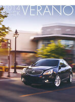 2014 Buick Verano 36-page Original Car Sales Brochure Catalog