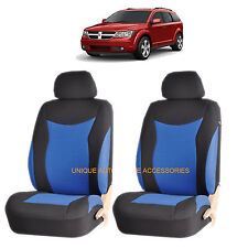 BLUE SPEED AIRBAG COMPATIBLE FRONT LOWBACK SEAT COVERS SET for DODGE RAM CHARGER
